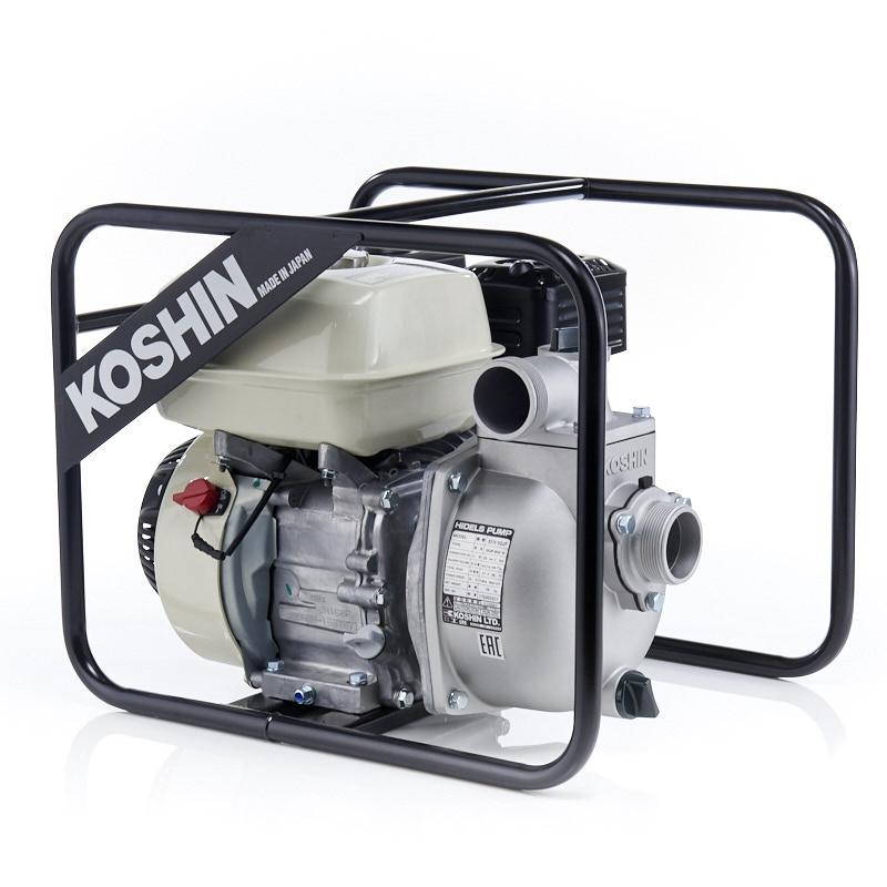 Бензиновая мотопомпа для загрязненных вод Koshin SEH-50JP