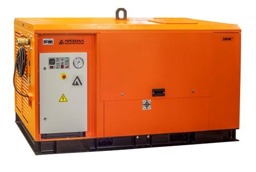 Передвижной электрический компрессор ЗИФ-СВЭ-10,6/0,7