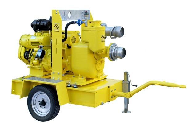 Дизельная установка водопонижения Varisco WEL 6-250 FKL10 ECO G11 V04 TRAILER