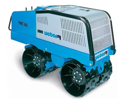 Каток траншейный  Weber TRC-66