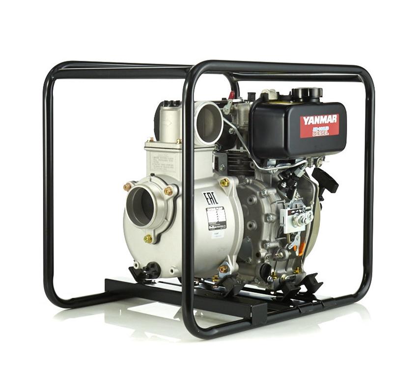 Дизельная мотопомпа для средне-загрязненных вод DaiShin SST-80YD