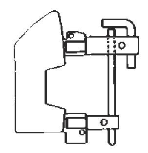Комплект плеч с электродами 10мм TECNA 7510