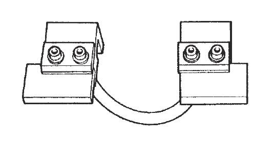 Пара электродов TECNA 4075