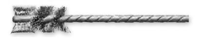 Щетка для внутренней очистки, ворс из стальной проволоки IBH LESSMANN 565.321.60