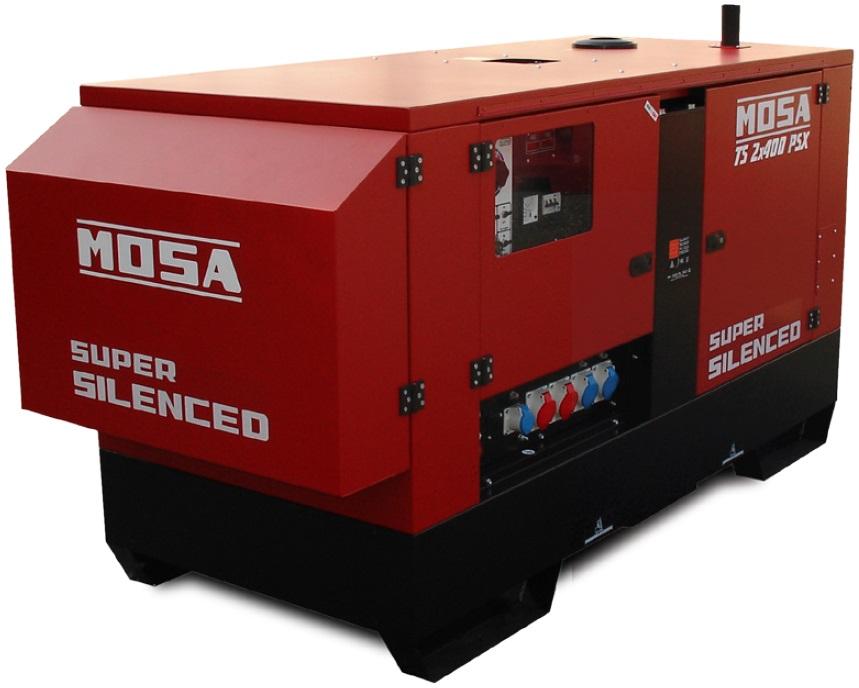 Агрегат сварочный, универсальный, дизельный - MOSA TS 2x400 PSX-BC