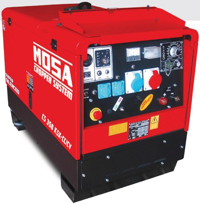 Агрегат сварочный, универсальный, дизельный - MOSA CS 350 KSX CC/CV