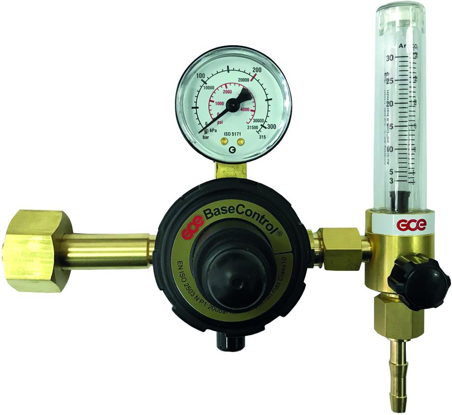 "Регулятор Base Control AR/CO2 - 200/- бар, вх. G3/4""; вых. G1/4""; 0-32л/мин"