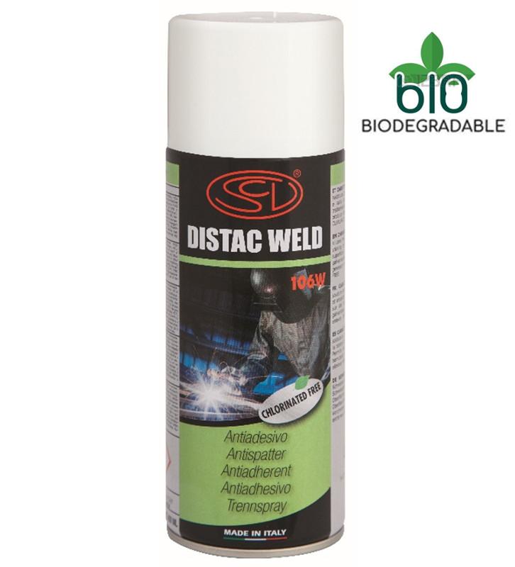 Спрей от брызг Siliconi Distac Weld без силикона биоразлагаемый 400 мл