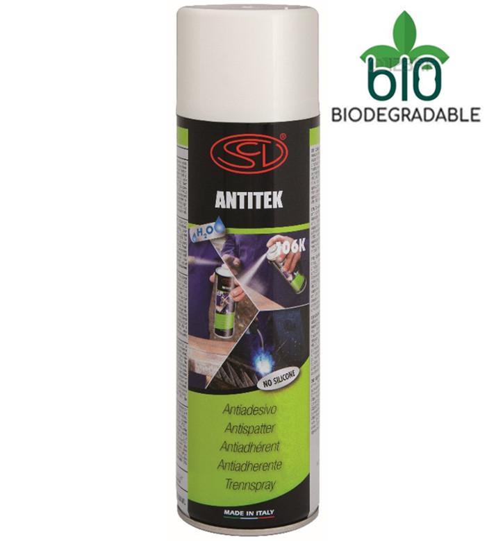 Спрей от брызг Siliconi Antitek без силикона на водной основе (не воспламеняющийся) 500 мл