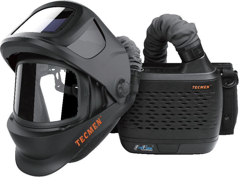 Сварочная маска Tecmen TM 1000 с подачей воздуха PAPR