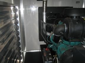 Вентиляция помещения в котором установлена электростанция