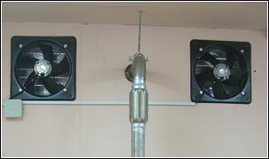 Подача свежего воздуха для лучшей работы электростанции