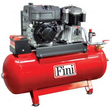 Дизельные компрессоры на базе двигателя Lombardini