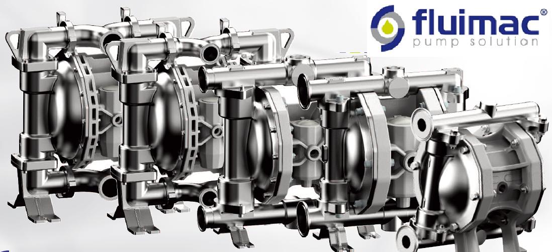 Fluimac - итальянский производитель мембранных пневматических насосов