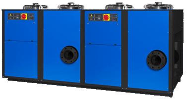 Осушители сжатого воздуха с одной и несколькими камерами охлаждения
